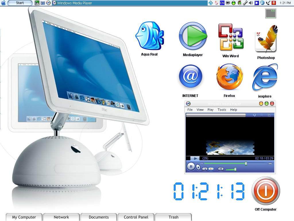 My Desktop Now by fma