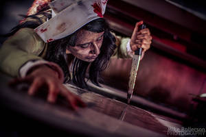 Silent Hill Puppet Nurse by NapalmRed