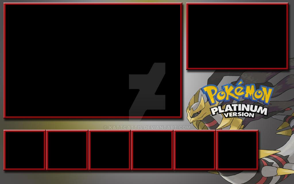 Pokemon Platinum Template by KattCattis on DeviantArt