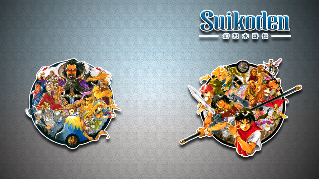 Suikoden 1 Wallpaper (Rebellion vs. Empire) by dead-pixels