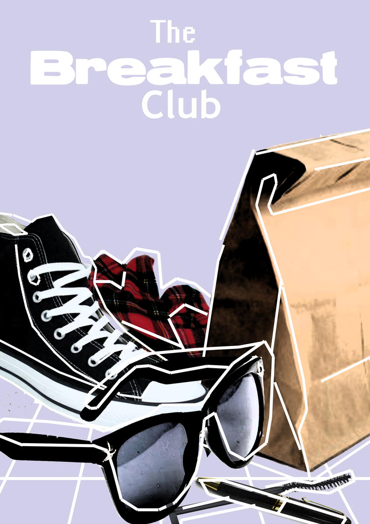the breakfast club my poster by morrallshortie on deviantart. Black Bedroom Furniture Sets. Home Design Ideas