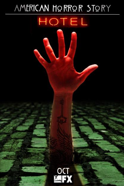 American Horror Story: Hotel No.1 'Hand' by morrallshortie