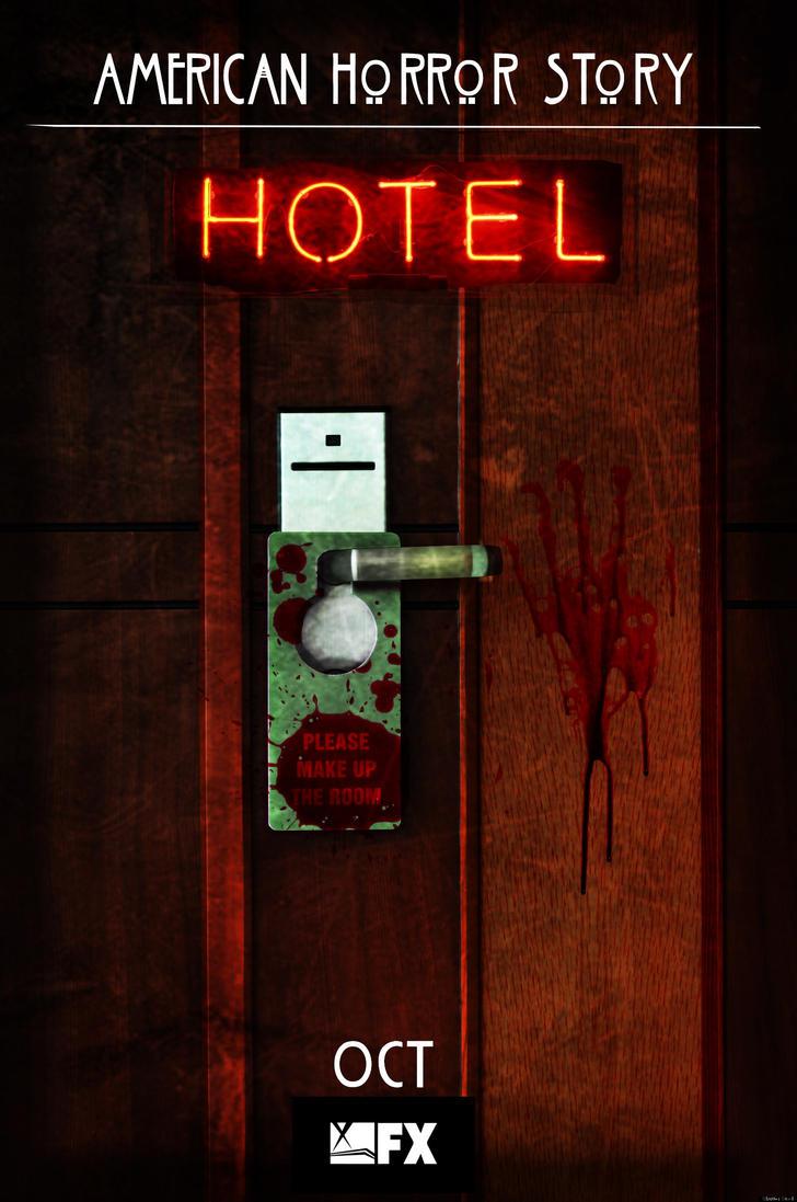 American Horror Story: Hotel No.2 'Door' by morrallshortie