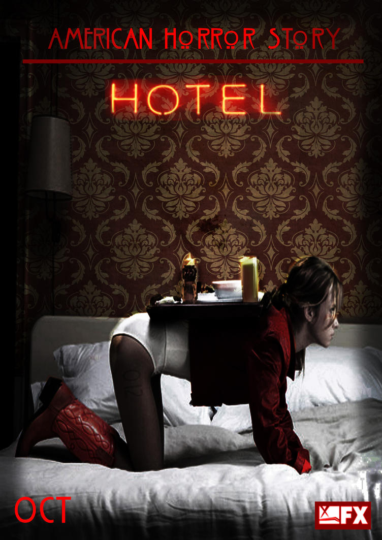 American Horror Story: Hotel No.4 'Room Service' by morrallshortie