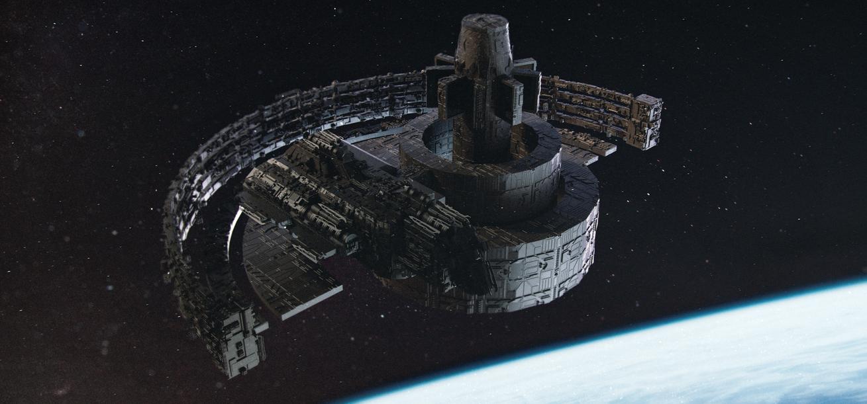 Space station by NagyAttilaArt on DeviantArt