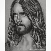 Jared Leto sketch by Maheen-S
