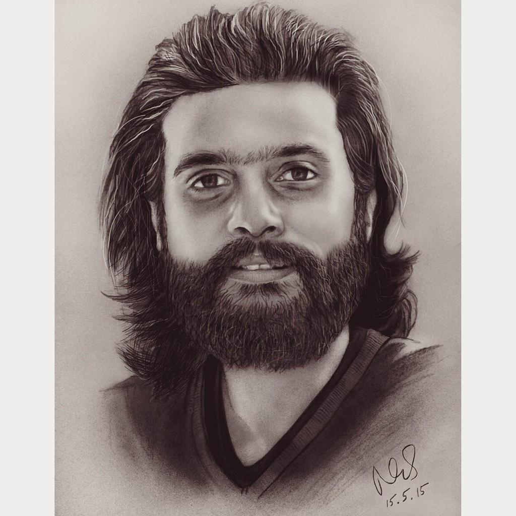 U Beard Cool beard by Maheen-S