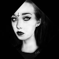 For satan's_ugly_daughter by Maheen-S