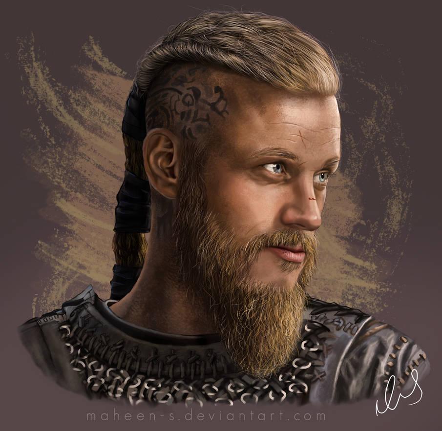 Ragnar Lothbrok by Maheen-S