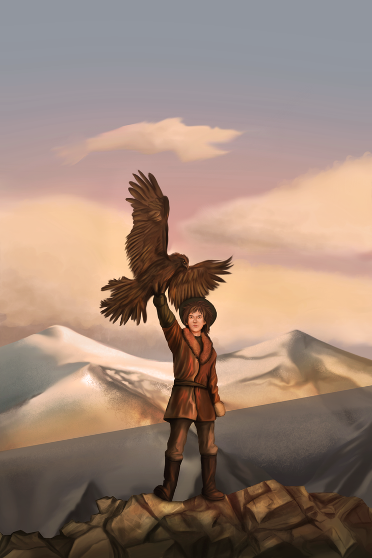The golden hawks of Genghis Khan by Maheen-S
