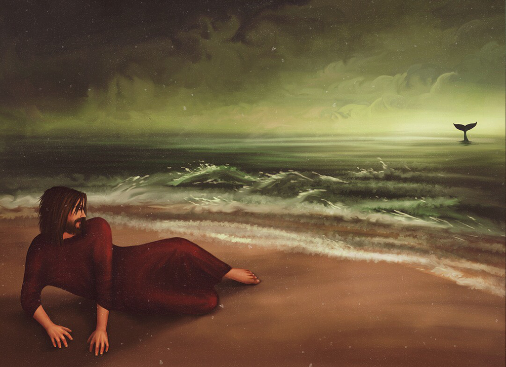 Jonah and the Whale - Shores Of Nineveh by Maheen-S