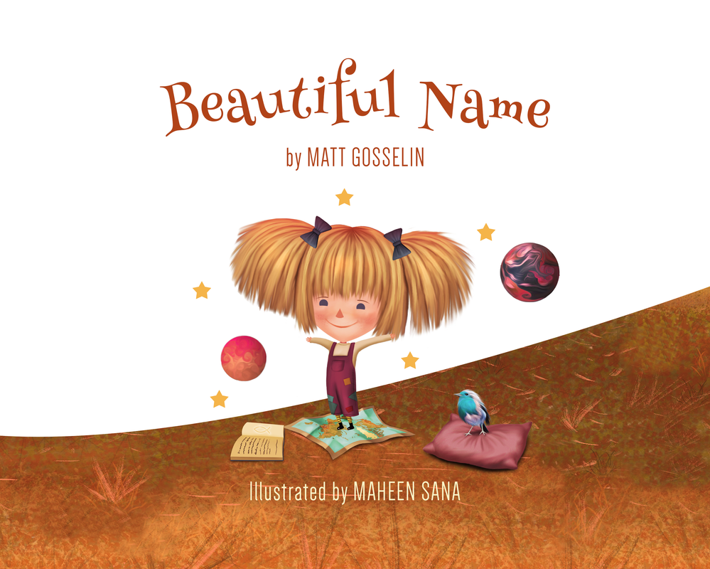Beautiful Name - Book cover by Maheen-S