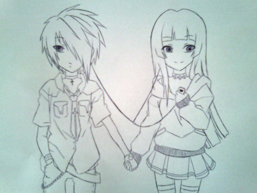 Anime Boy And Girl Friendship Hd Wallpapers