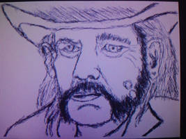 Lemmy Kilmister by Mechaghostman2