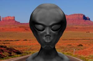 Roswell Alien by Mechaghostman2