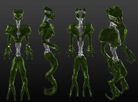 Monster Alien Thing by Mechaghostman2