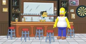 Microsoft Paint 3D - Homer Simpson
