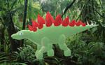 Microsoft Paint 3D - Stegosaurus