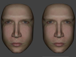 Stereoscopic CGI Face by Mechaghostman2