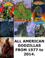 American Godzillas by Mechaghostman2