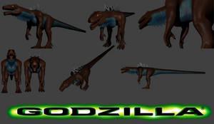 Godzilla 1998 (Sculptris)