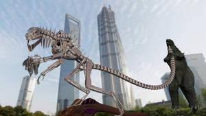 Terminator Godzilla 98 Kicks Ass by Mechaghostman2