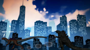 Kaiju Looney Toons by Mechaghostman2