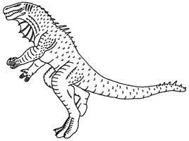 Monster Drawing by Mechaghostman2