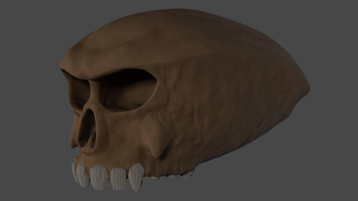 Skull by Mechaghostman2