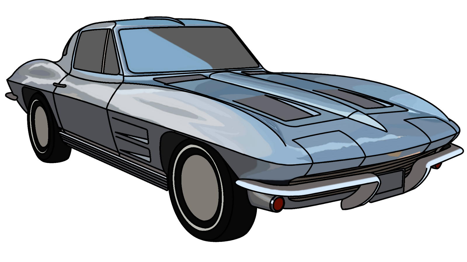 '63 Corvette by Mechaghostman2