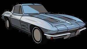 '63 Corvette by Mechaghostman2