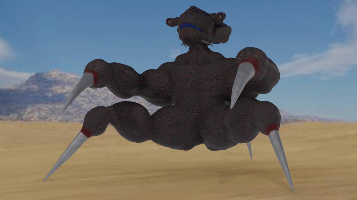 Stabby Kaiju by Mechaghostman2