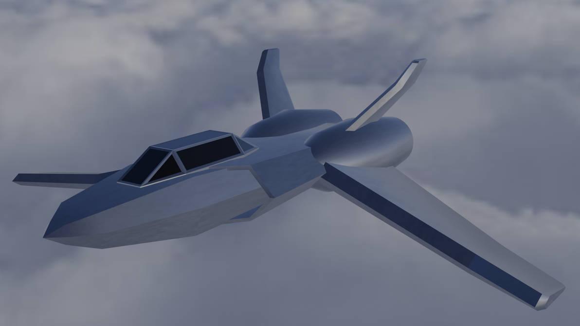 Sci-Fi Jet by Mechaghostman2
