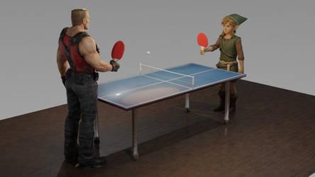 Link vs. Duke Nukem