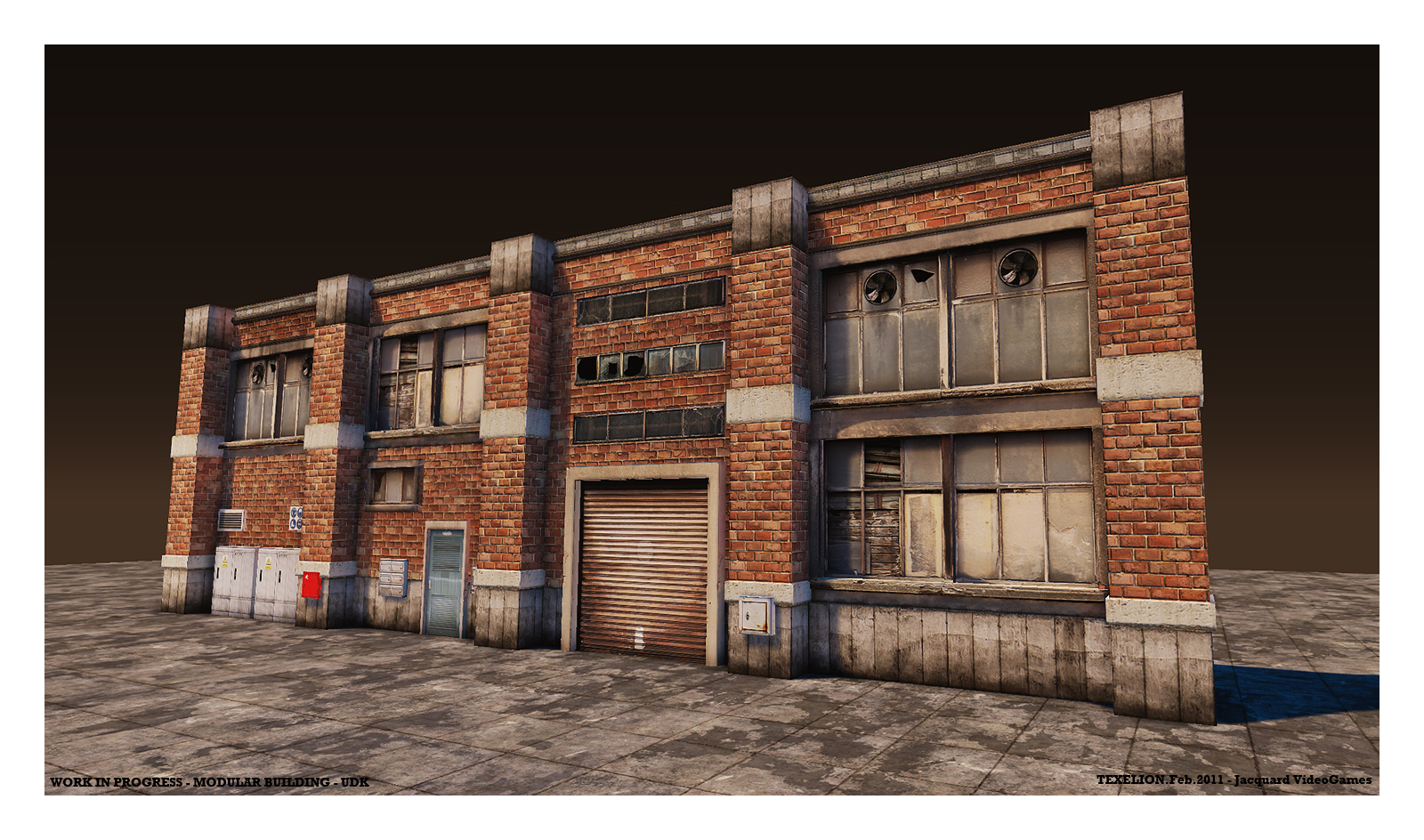 Building maps with modular props josh 39 s dev blog Build house online 3d free