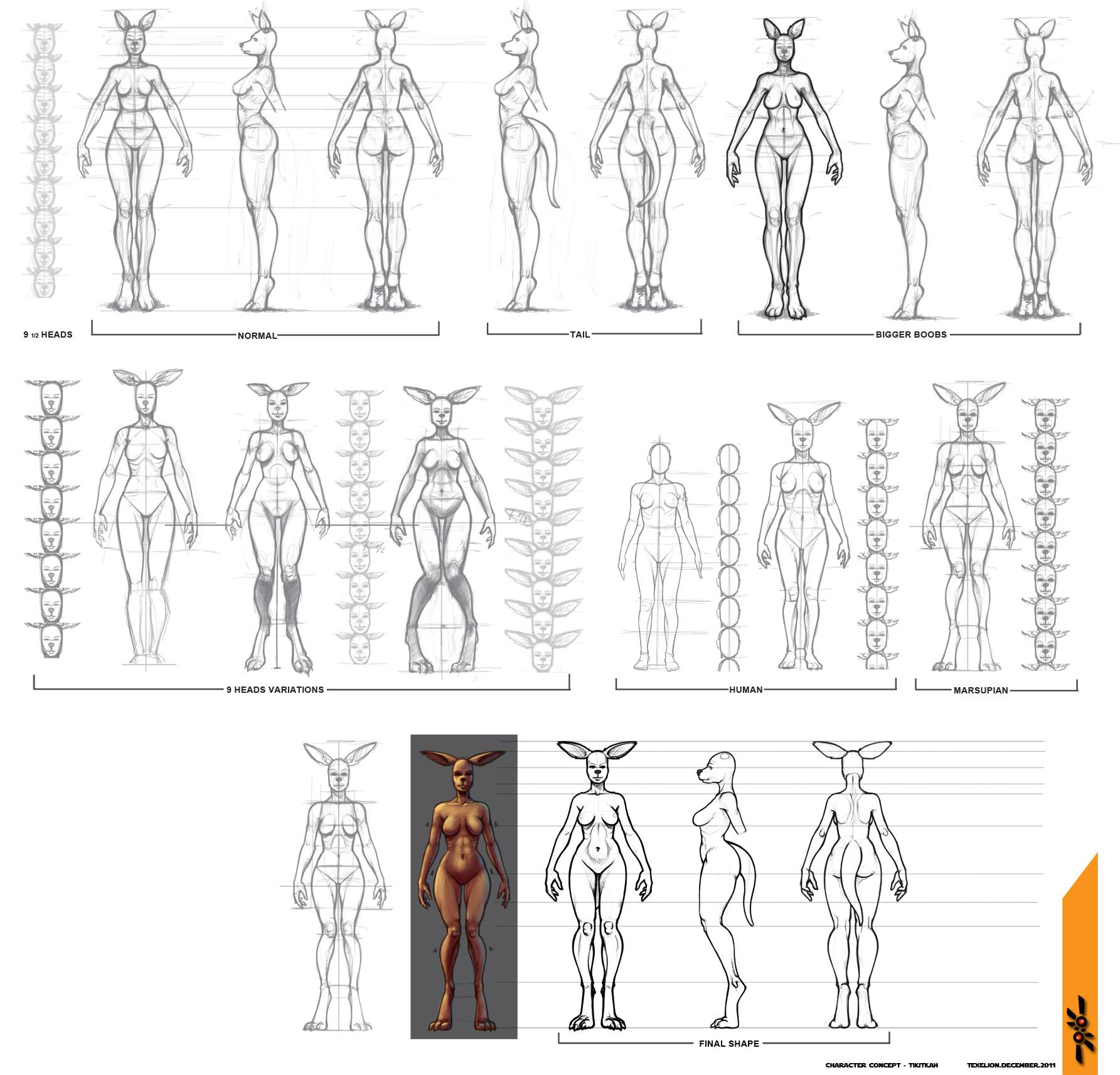 Tikitkah Body Shape by Texelion