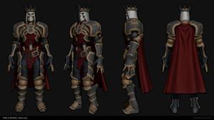 Skeleton King WIP 01