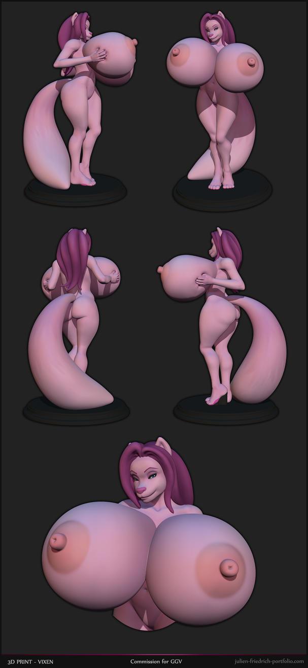 Vixen 3D Print by Texelion