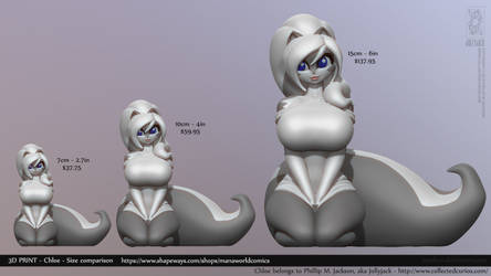 Chloe Available on Shapeways by Texelion