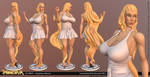 Amaterasu 3D print by Texelion
