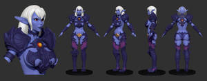 Syx DQ WIP01 by Texelion