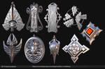 3D Printed Pendants by Texelion