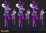 Stripper Syx on Shapeways by Texelion