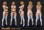 Slave Kyra 3D printable by Texelion
