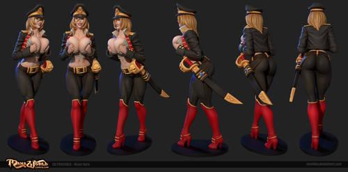 Major Kyra 3D printable by Texelion
