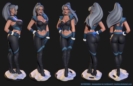 Snowmaiden 3D printable