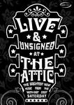 Live Music Unsigned Poster Two