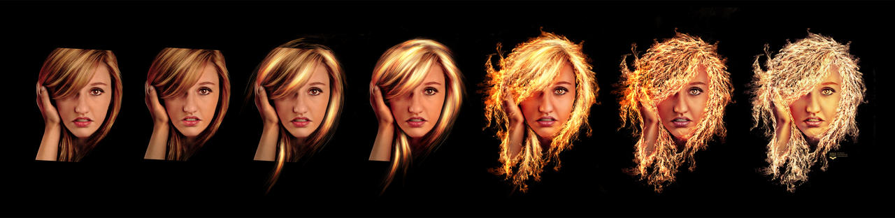 Strands of hair made from fire workflow by squiffythewombat on strands of hair made from fire workflow by squiffythewombat urmus Choice Image