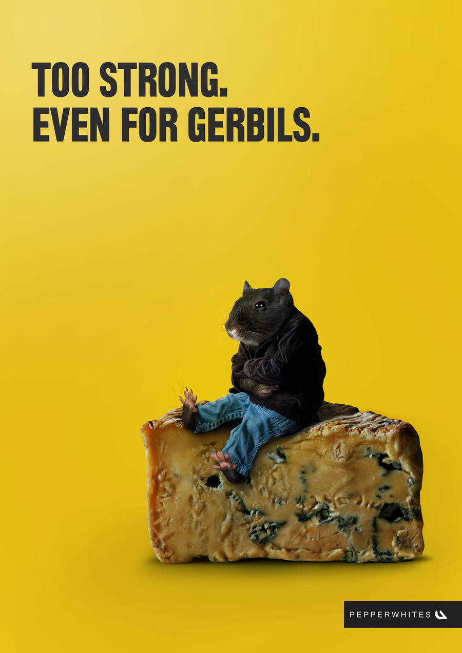 Too Strong. Even for Gerbils by squiffythewombat
