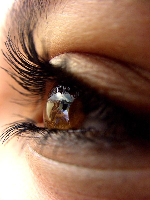 Maria's eye II by Bananenschale